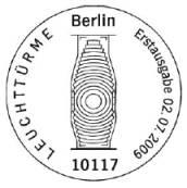 Ersttagsstempel Leuchtturm Berlin